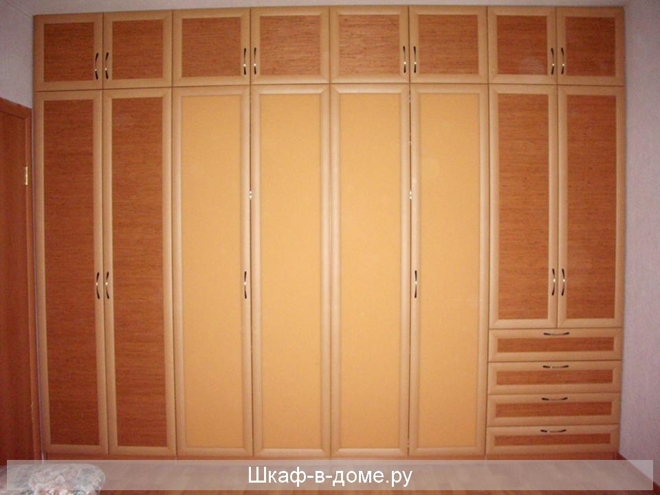 Шкаф с зеркальными дверями распашной своими руками