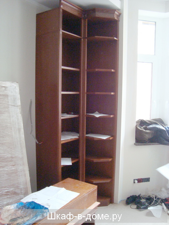 Угловой шкаф купе - фото №47