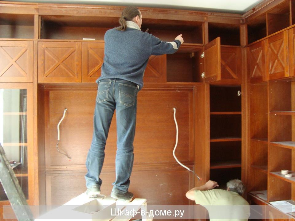 Угловой шкаф купе - фото №48