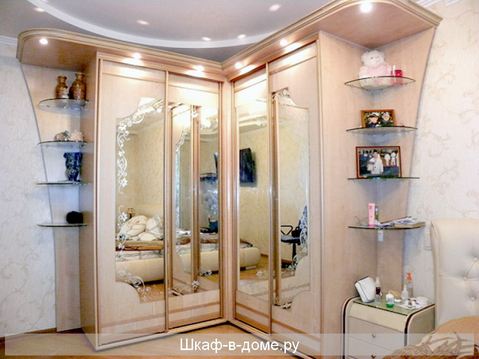 Шкафы в спальню - красота, изящество и гармония!.