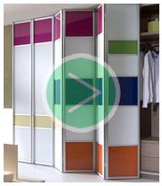 Системы дверей для шкафов купе