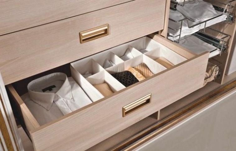 Органайзер для полотенец в шкаф своими руками