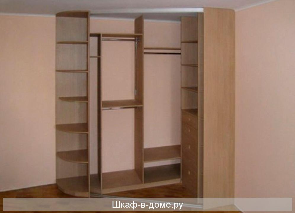 Как сделать шкаф купе угловой своими руками