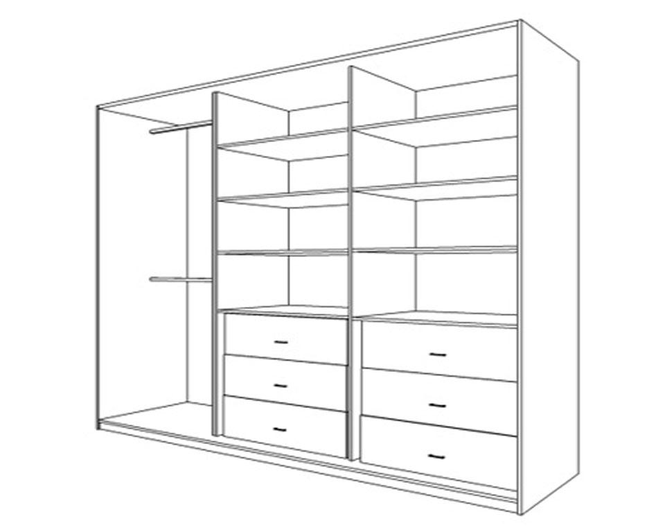Шкаф купе чертежи и картинки